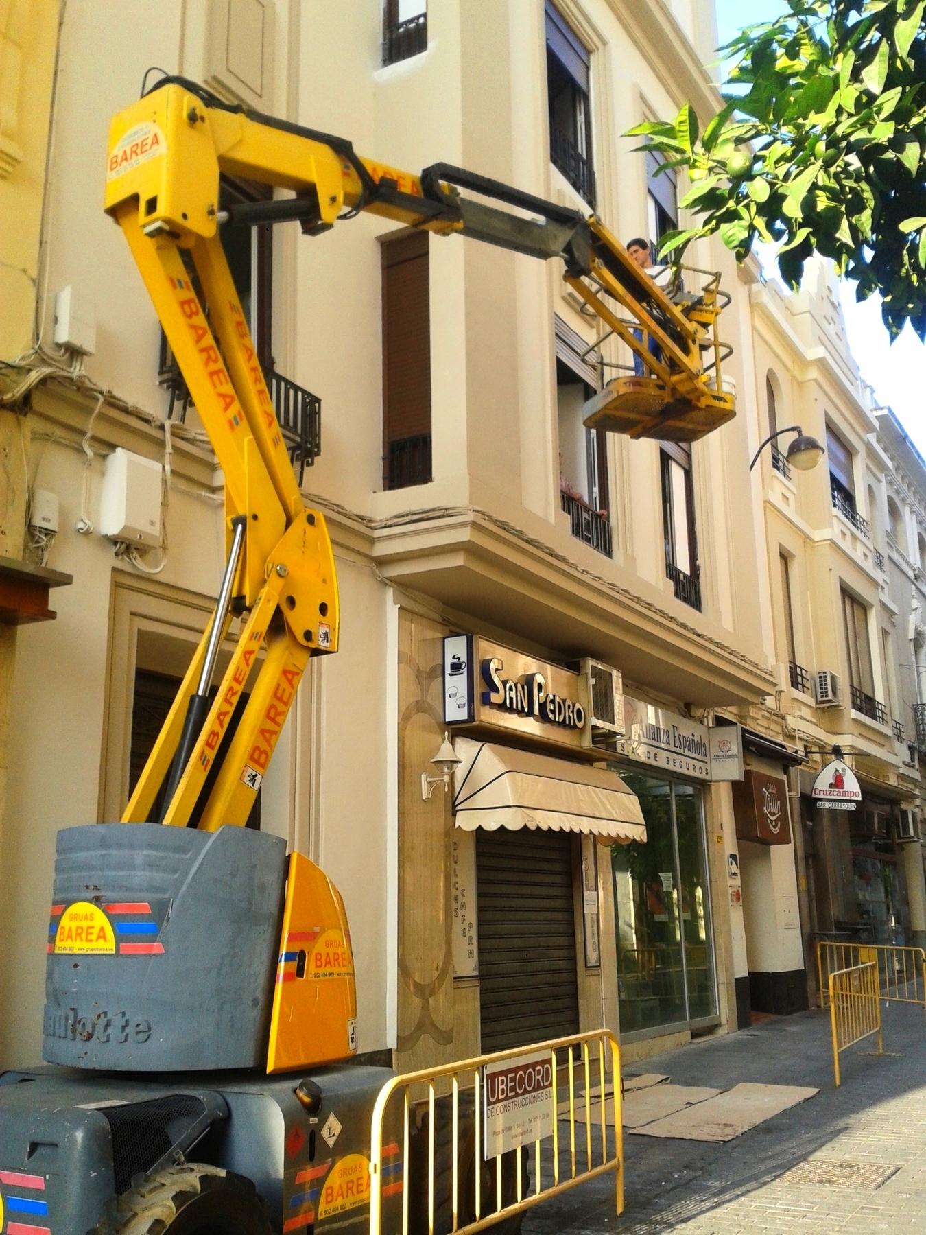 Reforma Fachada Calle Malaga en Córdoba.
