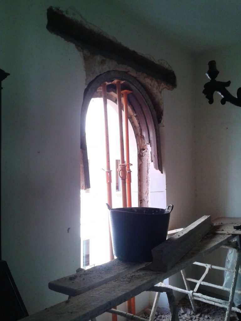 Fachada Calle Malaga. Ubecord Empresa de construcción y reformas en Córdoba, especializada en obras nuevas, rehabilitación y reformas