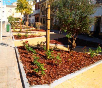 Zonas Verdes Calle Feria.