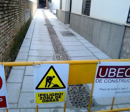 Pavimentación calle crucifijo.